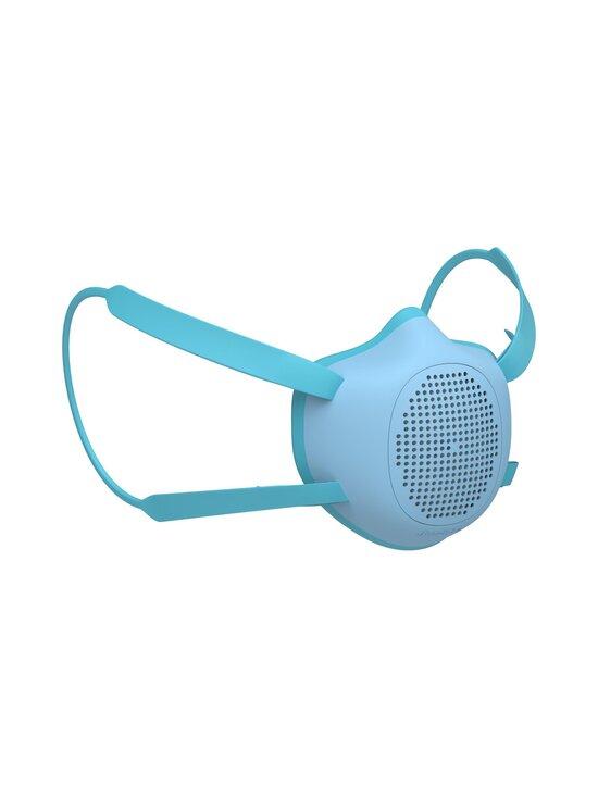 Guzzini - On The Go Protection Protective Face Mask S + 4 Multilayer filters Eco Mask Children size  -kasvomaski - MATT BLUE | Stockmann - photo 1