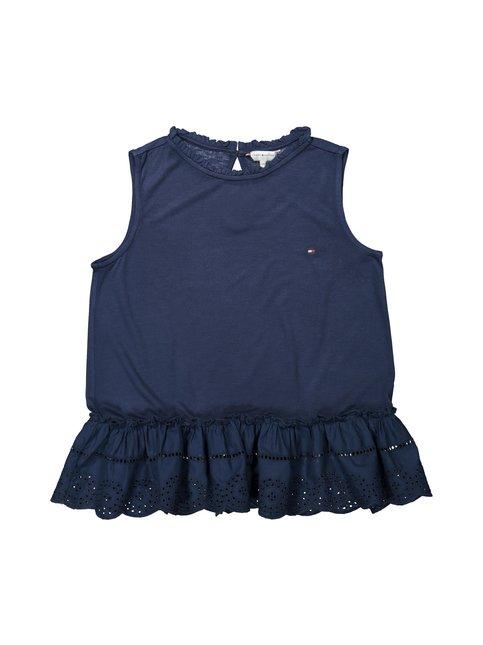 Lace Sleevless T-shirt -pusero