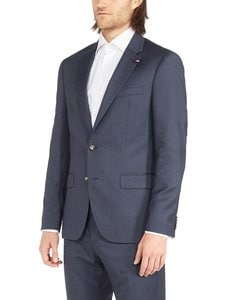 Tommy Hilfiger Tailored - Regular Fit Structured -puvuntakki - DARK BLUE (TUMMANSININEN) | Stockmann