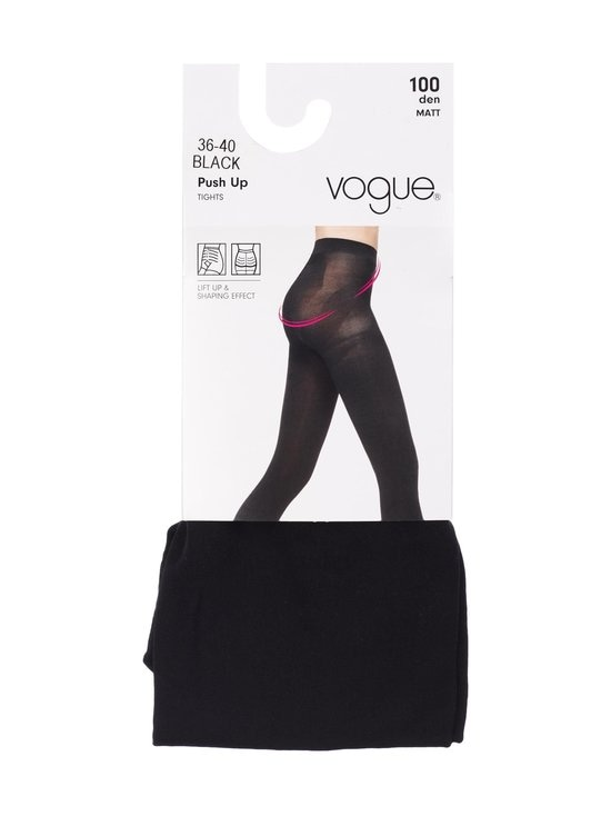 Vogue - Push Up -sukkahousut 100 den - BLACK (MUSTA)   Stockmann - photo 1