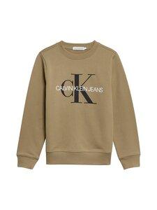 Calvin Klein Kids - MONOGRAM LOGO -collegepaita - M0G OLIVE KHAKI | Stockmann