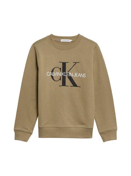 Calvin Klein Kids - MONOGRAM LOGO -collegepaita - M0G OLIVE KHAKI   Stockmann - photo 1