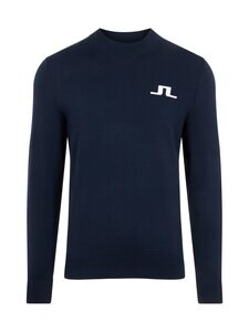 J.Lindeberg - Gus Golf Sweater -neule - 6855 JL NAVY | Stockmann