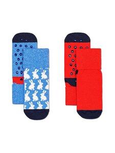 Happy Socks - Bunny Anti Slip -sukat 2-pack - 6300-MULTI | Stockmann