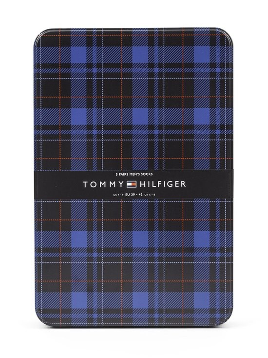 Tommy Hilfiger - Tin Giftbox -sukat 5-pack - 003 BLACK | Stockmann - photo 3