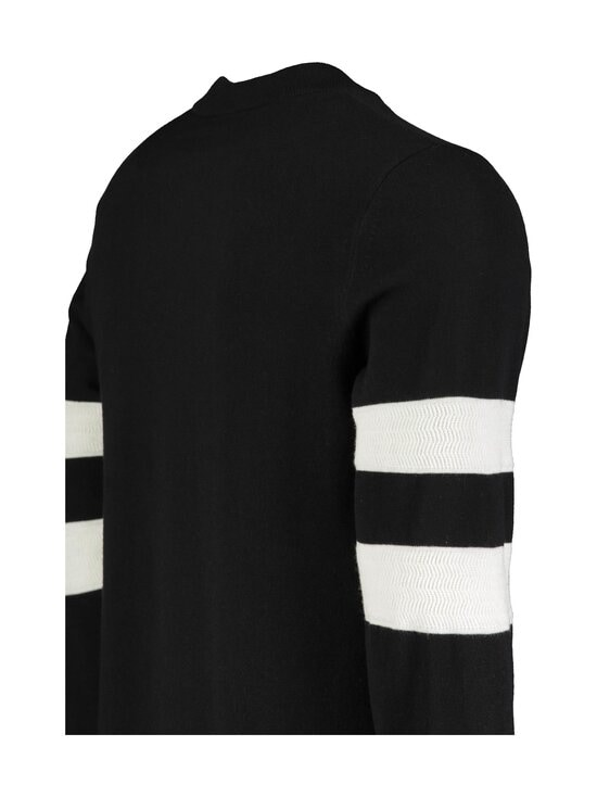 Fred Perry - Tipped Sleeve C/N Jumper -neule - BLACK | Stockmann - photo 3