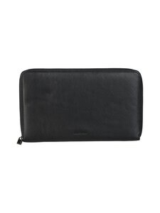 CONSTRUE - Sasha Travel Document Pouch -nahkakotelo - BLACK | Stockmann
