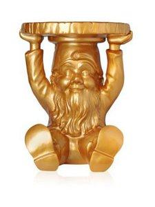 Kartell - Gnome Attila -jakkara - GOLD | Stockmann
