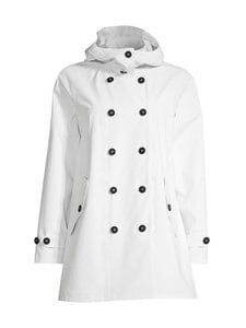 Save The Duck - Grin Brooke trench coat w hoodLC03/21 -takki - 00002 OFFWHITE | Stockmann