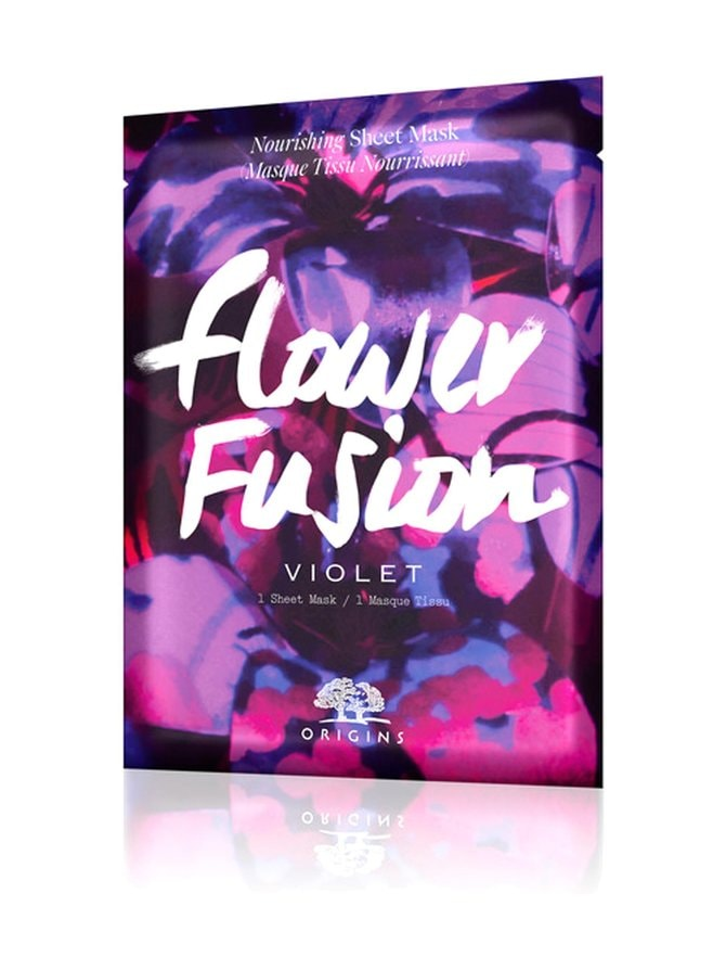 Flower Fusion™ Hydrating Sheet Mask Violet -kasvonaamio