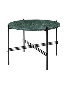 Gubi - TS Coffee Table -sohvapöytä ⌀ 55 cm - GREEN GUATEMALA MARBLE | Stockmann