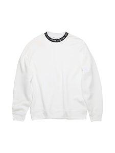 Acne Studios - Logo Crewneck Sweatshirt -collegepaita - OPTIC WHITE | Stockmann