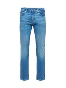 Selected - SlhSlim Leon -farkut - LIGHT BLUE DENIM | Stockmann