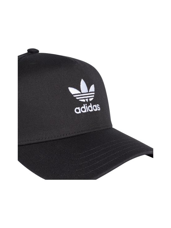 adidas Originals - Adicolor Trucker -lippalakki - BLACK | Stockmann - photo 4