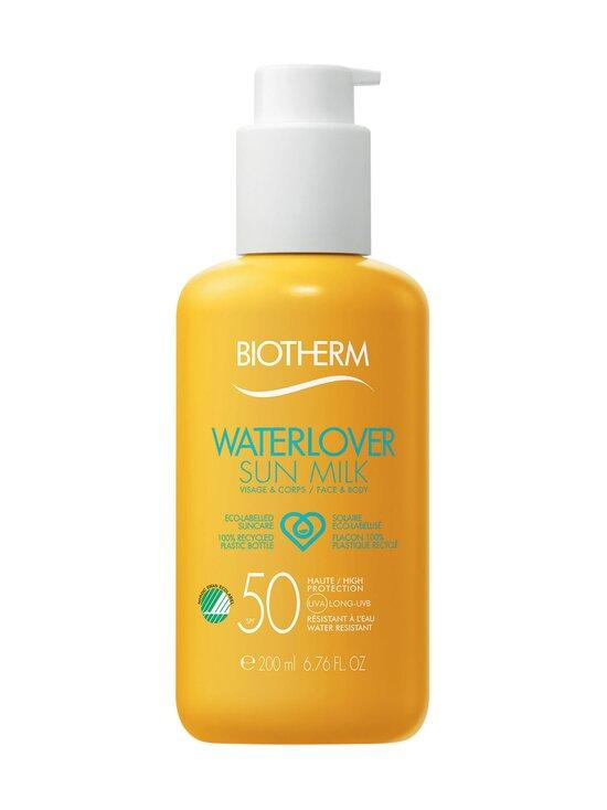 Biotherm - Waterlover Sun Milk SPF 50 -aurinkosuojavoide 200 ml - null | Stockmann - photo 1