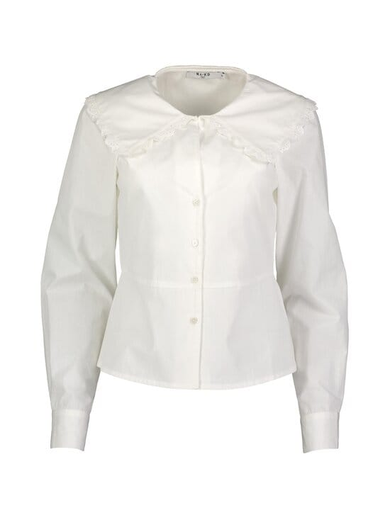 Embroidery Collar Shirt -paitapusero