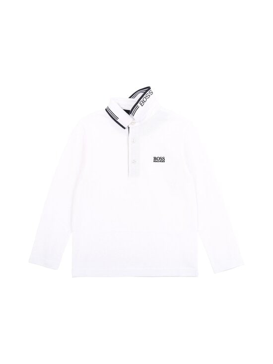 Hugo Boss Kidswear - LONG SLEEVE POLO -pikeepaita - 10B WHITE | Stockmann - photo 1