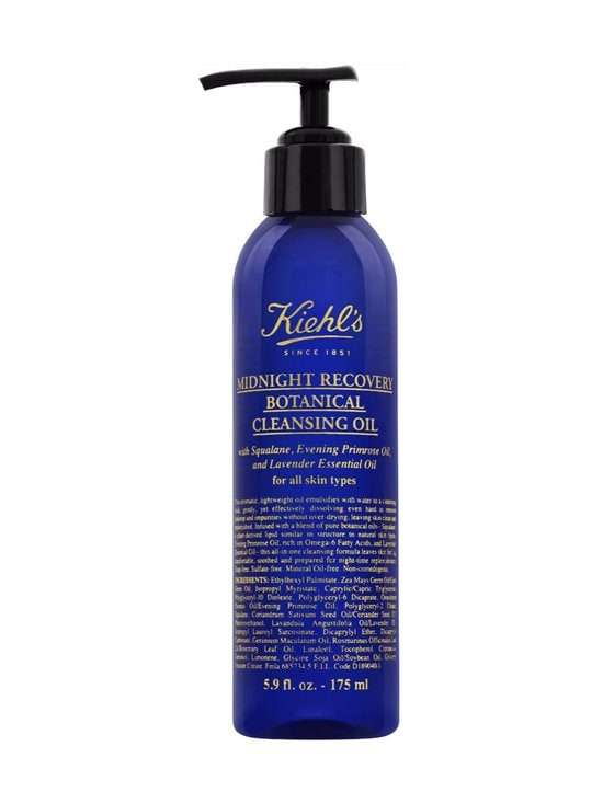 Kiehl's - Midnight Recovery Cleansing Oil -puhdistusöljy 180 ml | Stockmann - photo 1