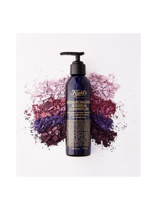 Kiehl's - Midnight Recovery Cleansing Oil -puhdistusöljy 180 ml | Stockmann - photo 4