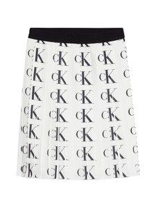 Calvin Klein Kids - Ck Aop Plisse -hame - 0K6 CK AOP BRIGHT WHITE | Stockmann