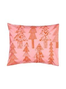 Marimekko - Kuusikossa-tyynyliina 50 x 60 cm - 330 PINK, RED | Stockmann
