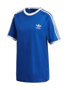 adidas Originals - 3 Stripe Tee -paita - TEAM ROYAL BLUE | Stockmann
