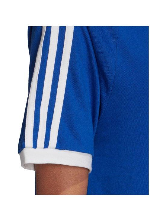 adidas Originals - 3 Stripe Tee -paita - TEAM ROYAL BLUE | Stockmann - photo 5