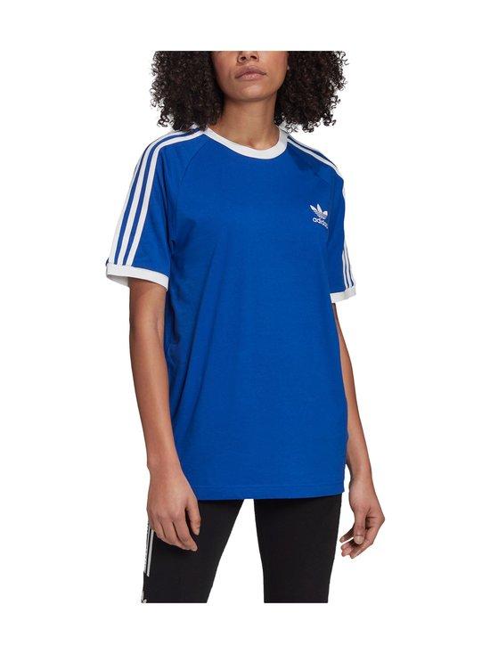 adidas Originals - 3 Stripe Tee -paita - TEAM ROYAL BLUE | Stockmann - photo 6