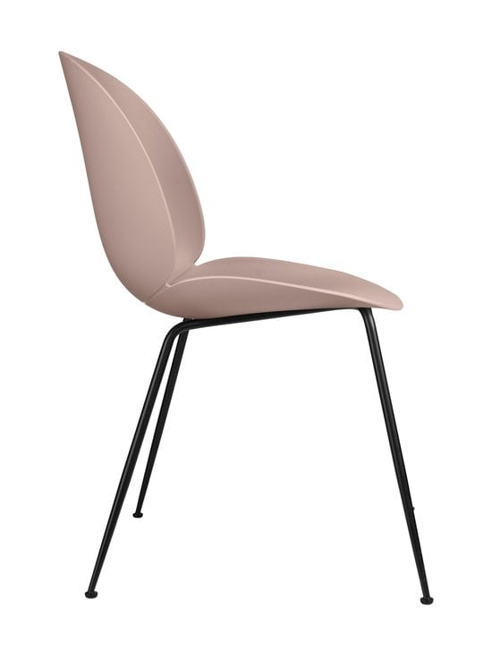 Gubi - Beetle-tuoli - BLACK MATT BASE, SWEET PINK, PLASTIC GLIDES | Stockmann - photo 3