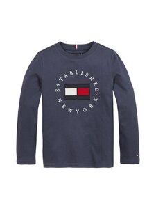 Tommy Hilfiger - Heritage Logo Tee -paita - C87 TWILIGHT NAVY | Stockmann