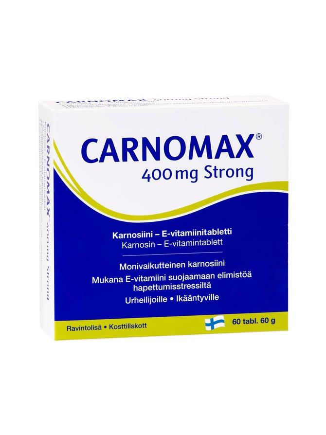 Carnomax 400 Strong 60 60 tabl 60 g