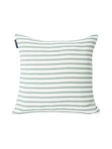 Lexington - Block Striped Recycled Cotton Pillow Cover -tyynynpäällinen 50 x 50 cm - GREEN | Stockmann
