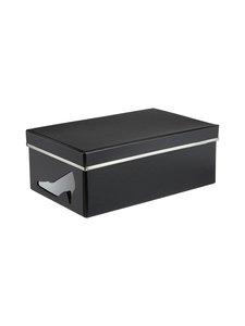 Bigso Box - Charlie-kenkälaatikko - MUSTA | Stockmann