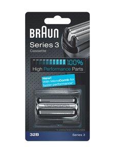 Braun - Series 3 32SB -teräverkko - MUSTA | Stockmann