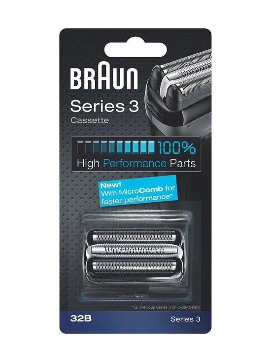 Braun - Series 3 32SB -teräverkko - MUSTA | Stockmann - photo 1