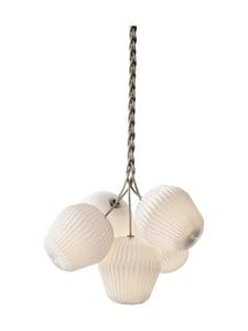 Le Klint - The Bouquet Chandelier 5 Medium -riippuvalaisin - WHITE | Stockmann