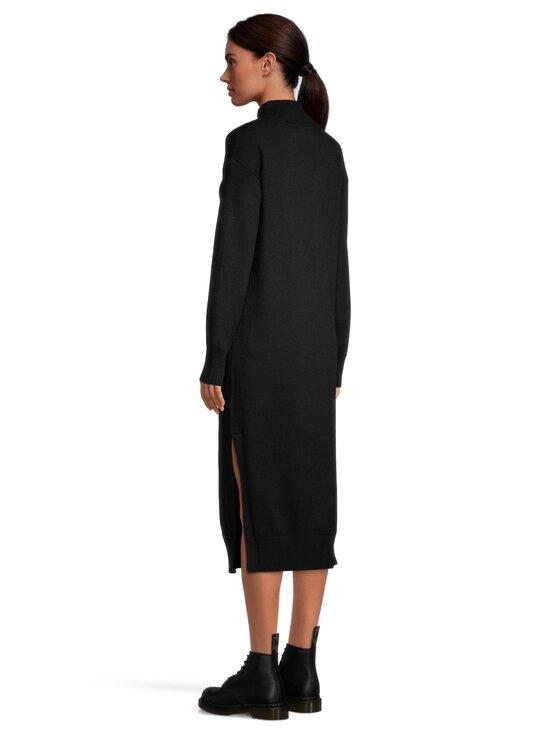 NA-KD - Side Slit Knit Dress -neulemekko - BLACK | Stockmann - photo 3