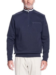 Bugatti - Soft Cotton Sweat Shirt -paita - 390 NAVY | Stockmann