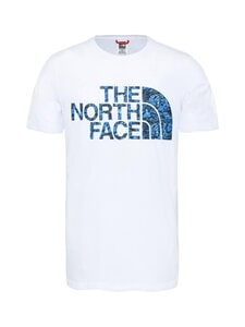 The North Face - M Standard SS Tee -paita - VU21 TNFWHT/CLEARLKEBLUDGTPPRT | Stockmann