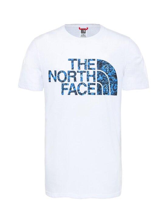 The North Face - M Standard SS Tee -paita - VU21 TNFWHT/CLEARLKEBLUDGTPPRT | Stockmann - photo 1