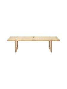Carl Hansen&Son - BM0488 Table Bench -penkkipöytä - OIL OAK/CANEWORK NATURAL | Stockmann