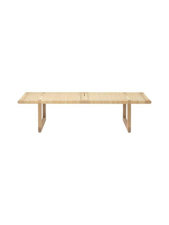 Carl Hansen&Son - BM0488 Table Bench -penkkipöytä - OIL OAK/CANEWORK NATURAL | Stockmann - photo 1
