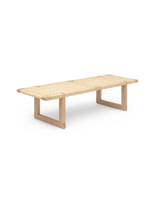 Carl Hansen&Son - BM0488 Table Bench -penkkipöytä - OIL OAK/CANEWORK NATURAL | Stockmann - photo 2