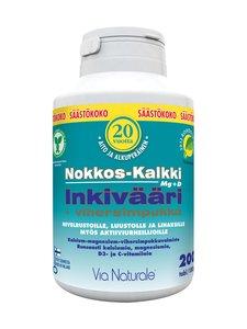 VN Via Naturale - Nokkos-kalkki-inkivääri + vihersimpukka -ravintolisä 200 tabl./180 g - null | Stockmann