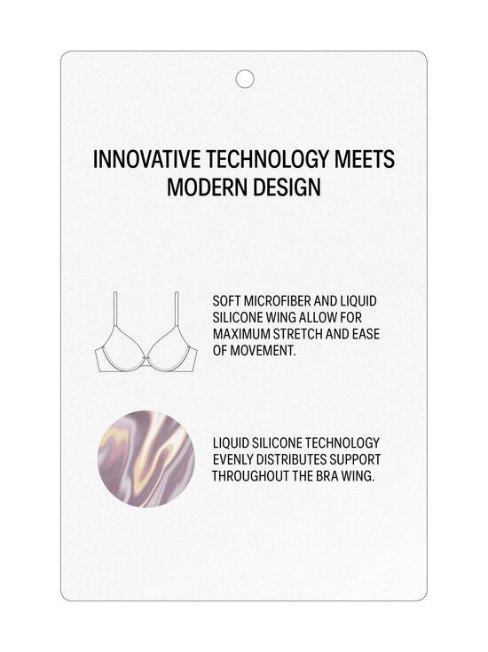 Calvin Klein Underwear - Liquid Plunge Push-Up Bra -rintaliivit - 2NT NYMPHS THIGH | Stockmann - photo 2