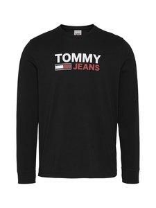 Tommy Jeans - Tjm Longsleeve Corp Logo Tee -paita - BDS BLACK | Stockmann