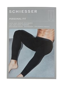 Schiesser - Personal Fit -pitkät alushousut - 000 BLACK | Stockmann