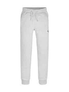Calvin Klein Kids - Monogram Sweatpants -collegehousut - PZ2 LIGHT GREY HEATHER | Stockmann