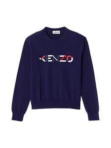 Kenzo - Multicoloured KENZO Logo Jumper -puuvillaneule - 76 NAVY BLUE | Stockmann