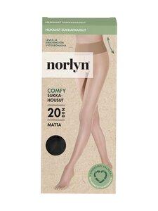 Norlyn - Comfy Matt 20 den -sukkahousut - 1210 BLACK | Stockmann